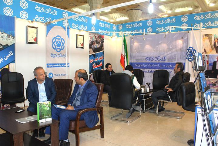 حضور موفق تکتام نوین در دومین نمایشگاه تخصصی بخش تعاون